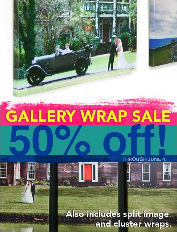 Gallery Wrap Sale