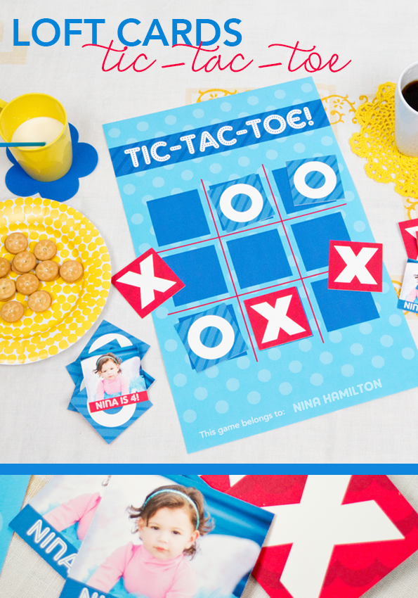 Tic-Tac-Toe Loft Printable by Black River Imaging