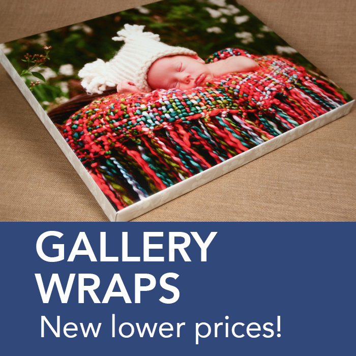 Gallery Wrap Lower Prices