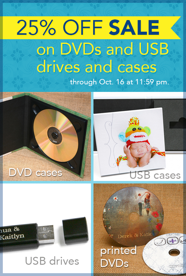 USB and DVD Storage Sale