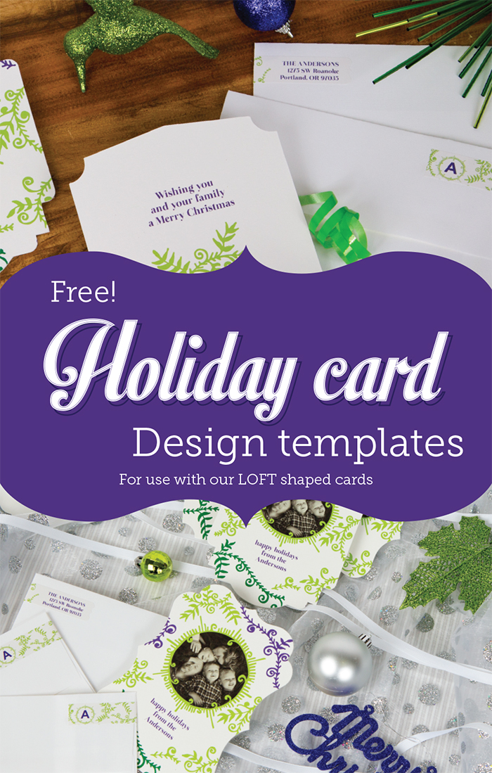 LOFT Shaped Cards Templates