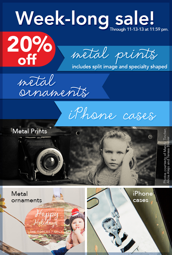 Metal Prints, Metal Ornaments, Custom iPhone Cases