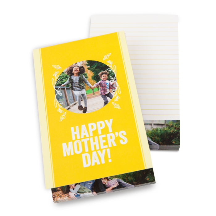 Custom Notepads Mothers Day Gifts
