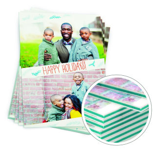 Color Thick Greeting cards