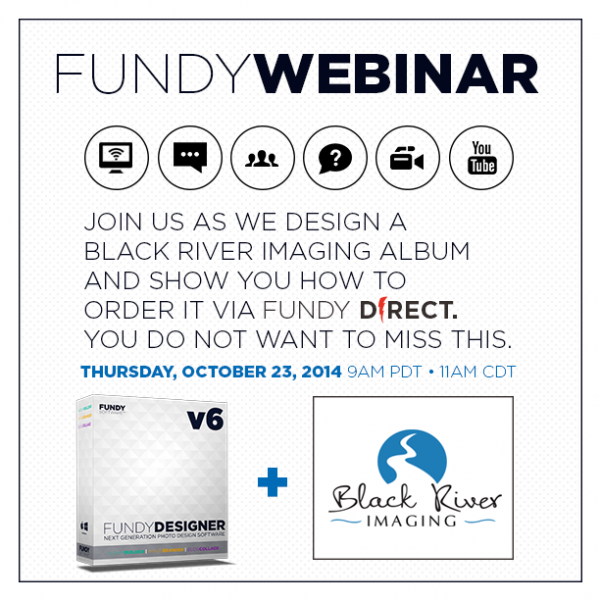Fundy Black River Imaging Album Design Webinar
