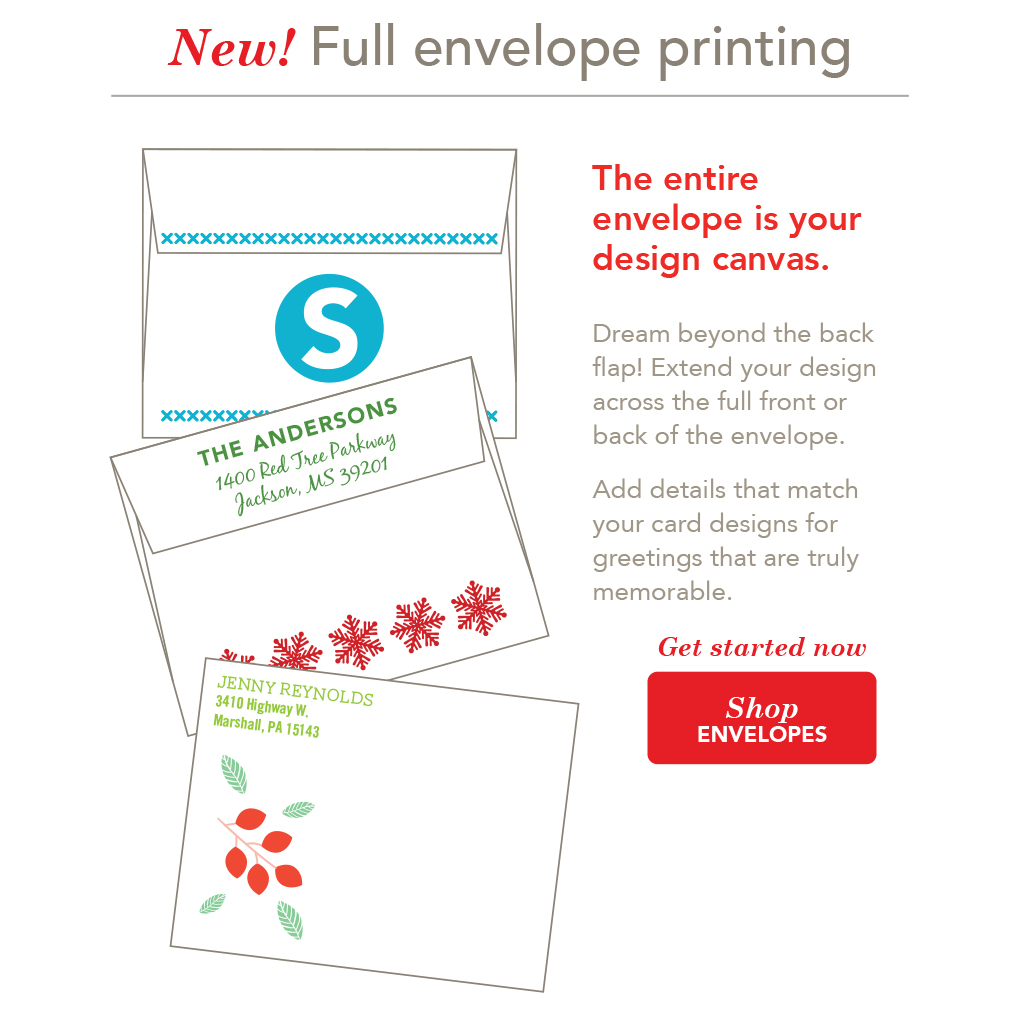 Now Offering Envelope Printing