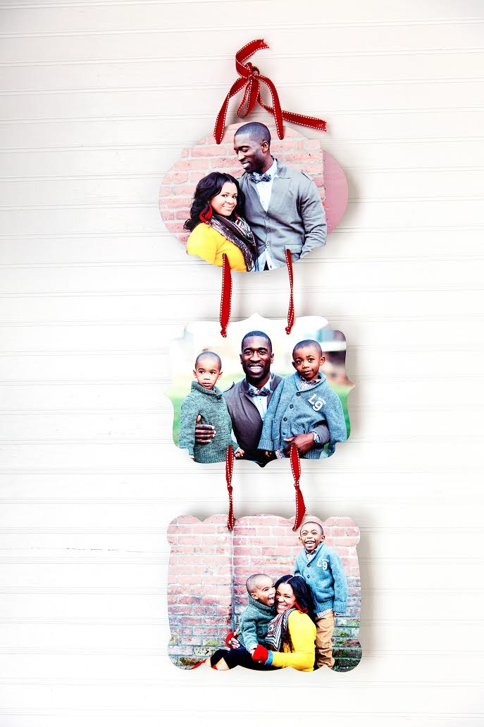 Family pictures on Custom Metal Print