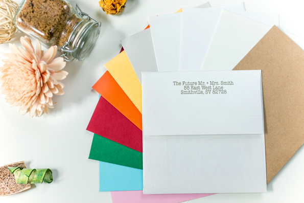 Printed Return Address Envelopes