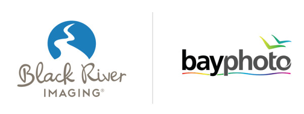 black river imaging logo and bay photo logo